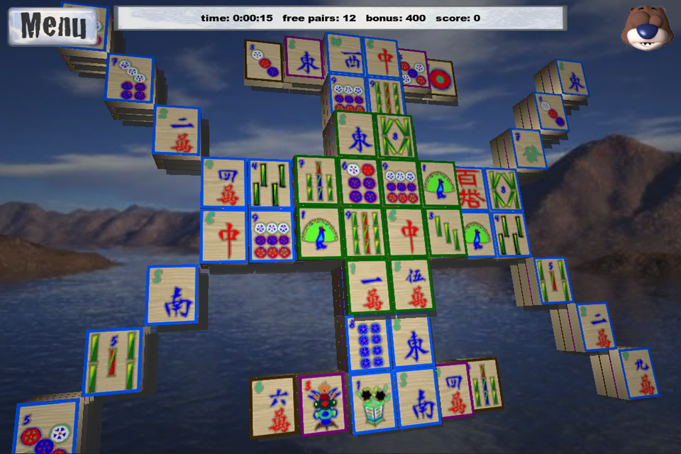 Screenshot Mahjong 3D XL