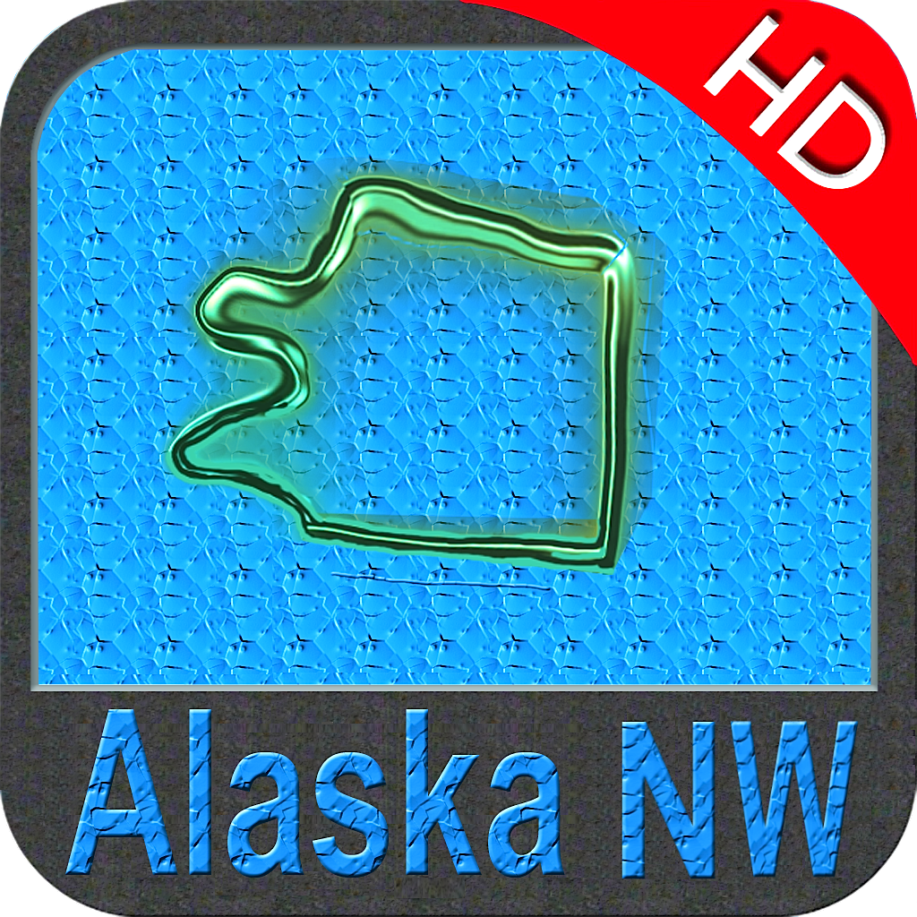 Alaska (NW) nautical chart HD