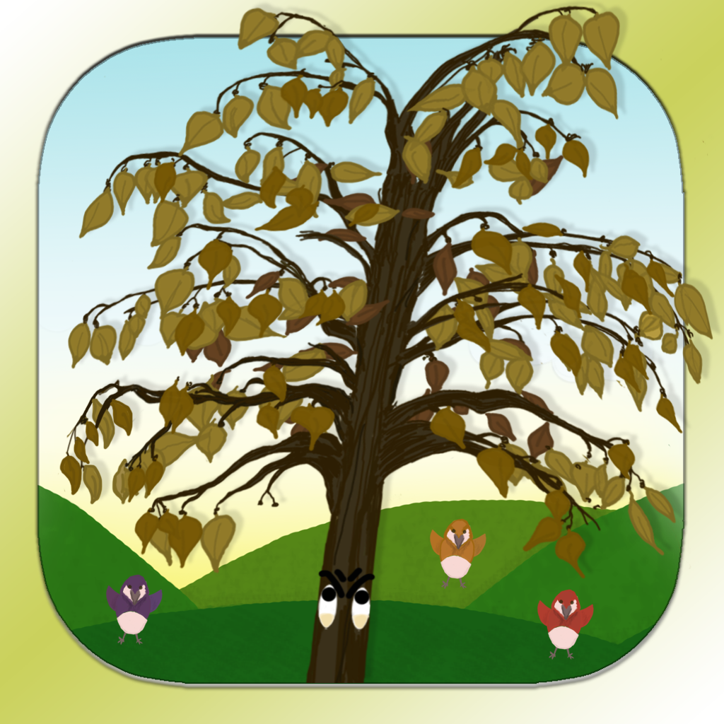 The tree that refused to shed - An interactive story for kids, families and educators